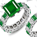For instance the emerald here is assigned to Mercury, whereas in Western tradition this stone was usually the representative of Venus