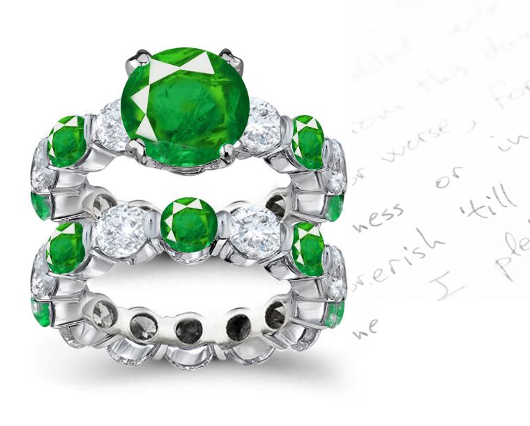 Modern Emerald Ring Designs