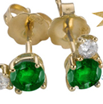 Emerald-cuts shine in designs with clean lines