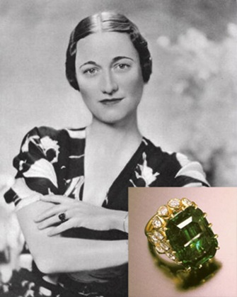 Duchess of Windsor Emerald Ring