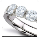 he precious jewelers continued to make diamond jewelry in the similar mode throughout the 1890s, when they set diamonds in the regal-looking style of Louis XV, especially Empress Eugenie's jewelry, creating pieces to emphasize the centerpiece gem splendor in the impressive