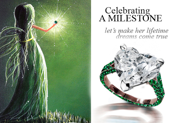 Add Sentimental Value to Your Engagement Ring with Emerald Birthstones