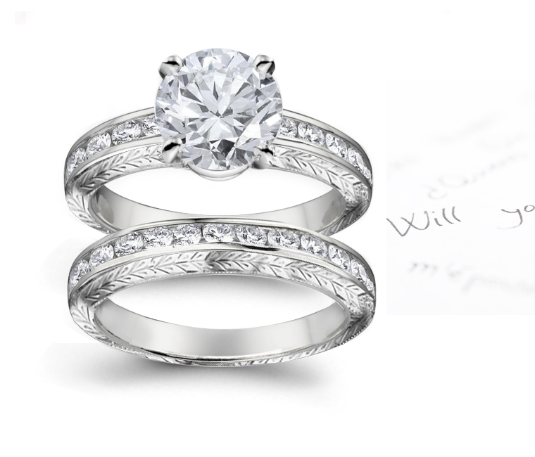 wedding georgian rings promise cut with engagement best style silver diamond slypbxq in set diamonds rose ring