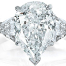 The color and clarity are rivaled by only a handful of diamonds that would sell for $15,000 a carat or more.