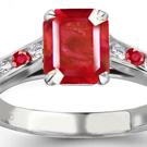 Dark Red Ruby Jewelry