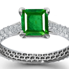 jewelry artist, designer, goldsmith, silversmith, workshop, court, shop, artisan emerald jewelry, engraved emeralds