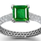 jewelry artist, designer, goldsmith, silversmith, workshop, court, shop, artisan emerald jewelry, engraved emeralds