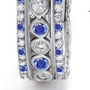 sapphire rings are your unique expressions of eternal love