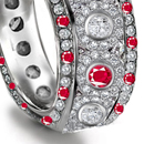 pages of ruby rings