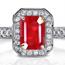 Burma Ruby Ring in Ring Canada Ring Size 10 Mens