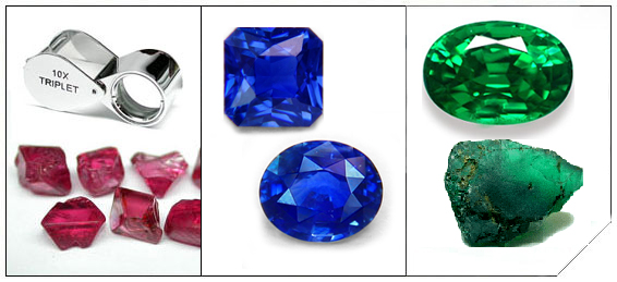 stone lankan gemstones sapphire cut sri king gems coloured loose emerald orange fine