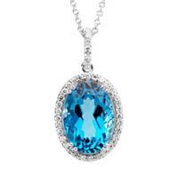 Genuine birthstone jewelry blue topaz jewelry blue topaz rings genuine blue topaz pendants in 14k white gold with certified diamonds aloadofball Images