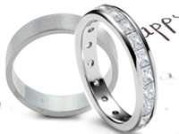 Wedding and Anniversary Bands - Diamond Eternity Bands - Classic Bands. Perfect as a wedding or anniversary band, select a style from our large collection of custom diamond eternity bands which are all set with the highest quality diamonds. Browse our collection of classic wedding bands. We'll help you to select wedding bands for one of the most important and memorable days of your lives.
