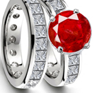 Ruby Ring Color Red (Chromium)