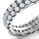 cuts or photographs of diamond rings showing sizes of stones and styles of mountings with prices