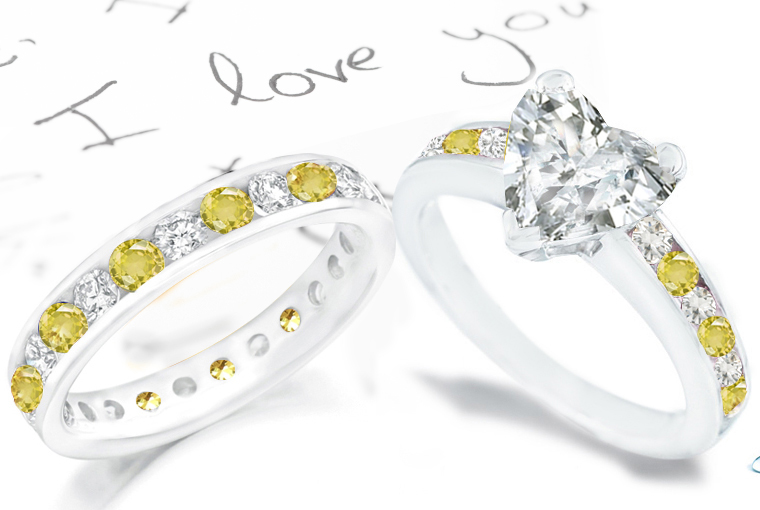 heart sapphire rings romancing with sapphires sapphire ring gallery - Kmart Wedding Ring Sets