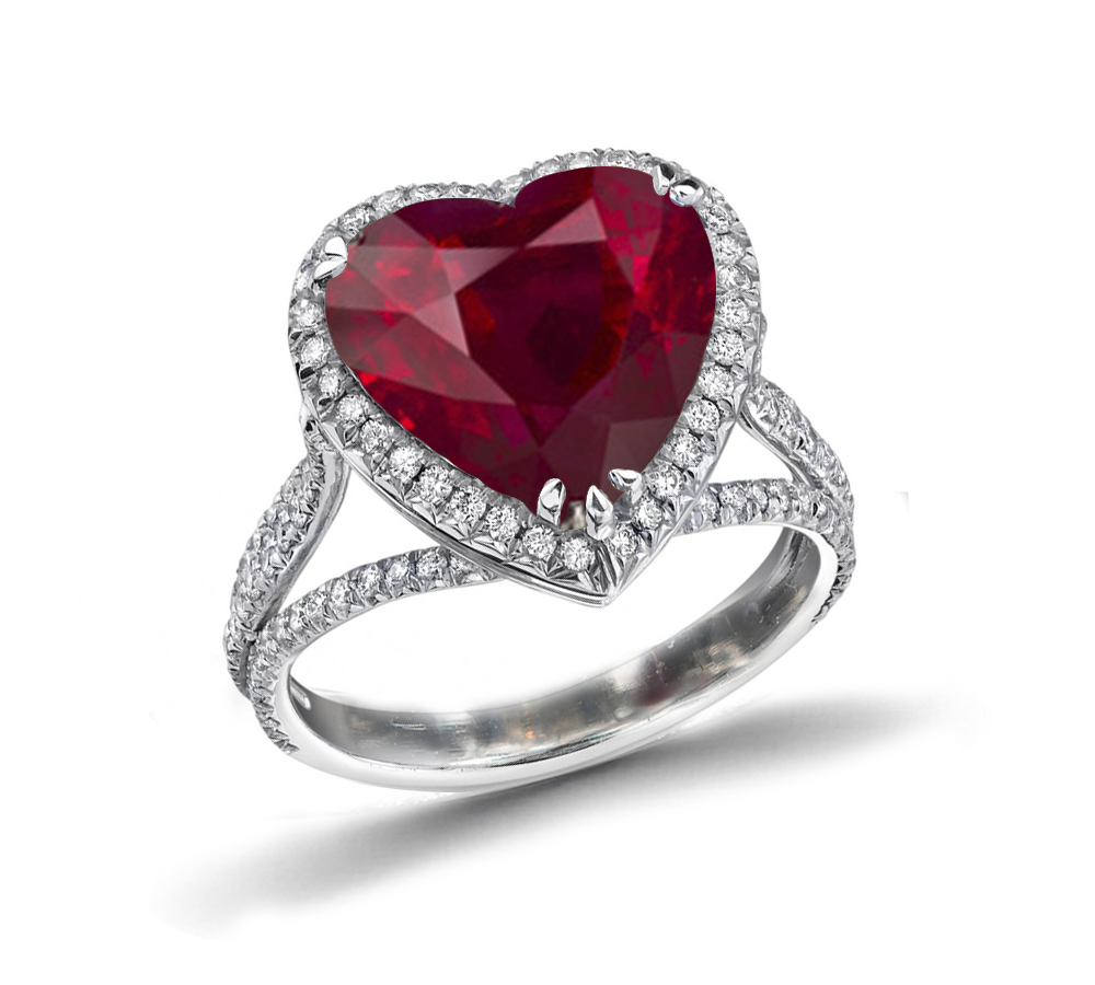 ruby ring rings to gentleman buy s an gazette engagement diamond blood how