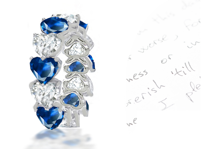 Think sapphire and diamond the sapphire engagement ring the