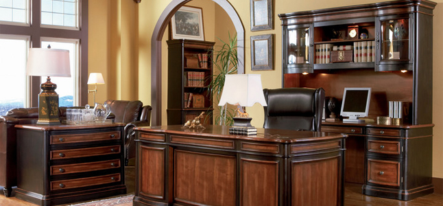 Home furniture home office furniture office desks tables chairs decor - Home office desk furniture sets ...