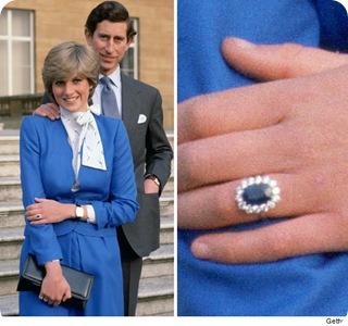 Princess Diana Sapphire Engagement Ring