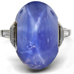 Sapphire Rings Antique