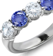 Where a sapphire comes from, the country of origin, also affects its value.