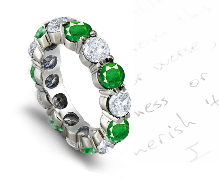 eternity products diamond band bands cut and emerald charles cj of grande jewelers