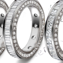 Diamond Cluster Rings - Heart-shaped rings in various combinations