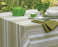 You'll be surprised by our decorative table linens collection that will brighten any tabletop in your home. Make your dining room chairs more comfortable and stylish with a set of affordable as well as unique chair cushions. Select from our wide selection of table linens made of finest fabrices and colors, to find the perfect table linen for your every table whether it is a tablecloth