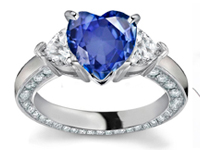 Prince William and Lady Diana's is the world�s most wanted sapphire engagement ring. Napolean & Josephine Engagement Ring is the history's most romantic ring ever known..