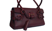 Salvatore Ferragamo Leather Designer Handbag