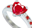 Free Burma Ruby Ring Authentification Tester