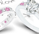 he pretty floral shape began to blossom again around 2000 in engagement rings
