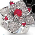 emerald_sapphire_amethst_ruby_diamond_ flower_ring