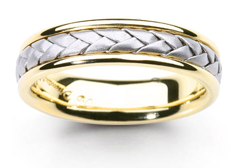 platinum wedding ca in detailmain gold brushed phab main and lrg ring yellow inlay