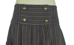 D&G Women's Designer Pleated Skirts