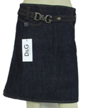 D&G Women's Designer Denim Skirts