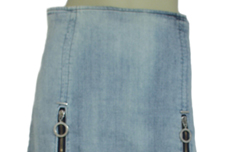 D&G Women's Designer Washed Denim Skirts